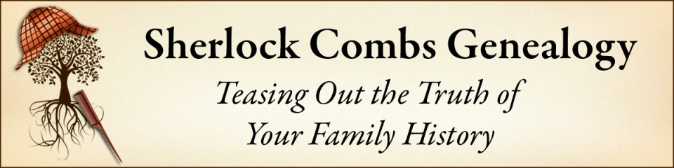 Sherlock Combs Genealogy Professional Services